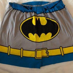 "Boxer shorts+cape mens Batman new size L 36-38"""